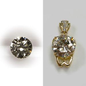 ダイヤモンドのオーダージュエリー
