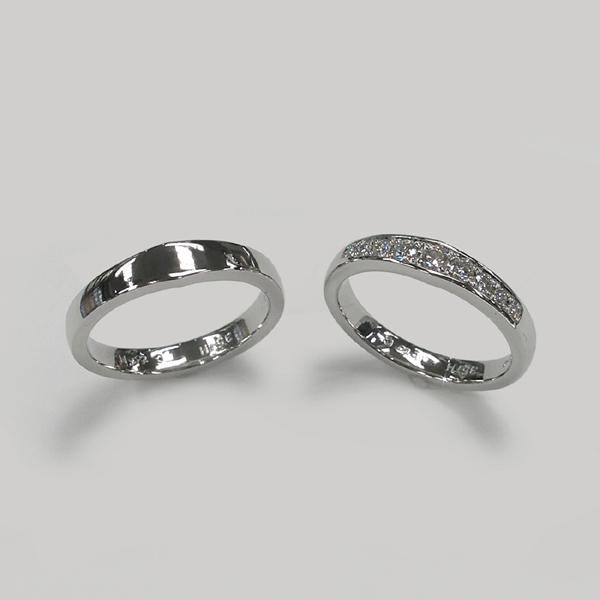 結婚35周年記念で製作した結婚指輪