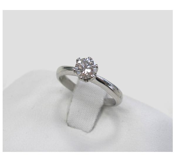 リフォーム前の婚約指輪 Ptダイヤモンドリング